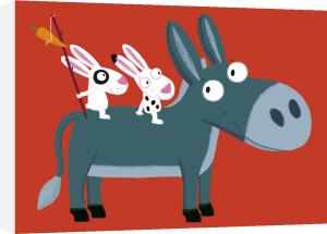 Little Donkey by Nathalie Choux