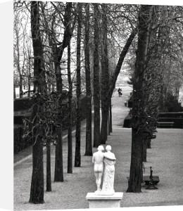 Statue dans le parc de Saint-Cloud, 1981 by Edouard Boubat