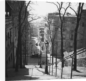 Steps, Montmartre, Paris by Walter Limot