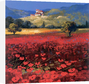 Summer, Aix Provence by John Horsewell