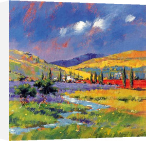 Lavender Fields, Provence by Alan Morgan