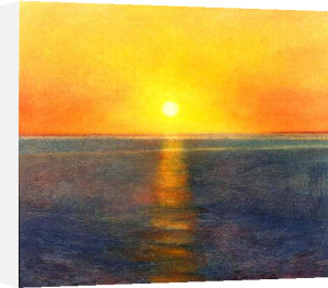 Evening Journey by Sue Biazotti