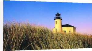 Coquille River Lighthouse, Oregon by Frates