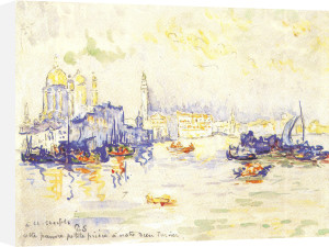 Venice, 1909 by Paul Signac