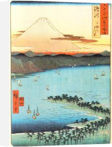 Pine Beach at Miko by Ando Hiroshige