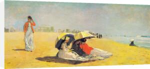 East Hampton Beach by Winslow Homer