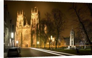 York Minster At Night by Richard Osbourne