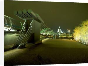 Millennium Bridge London by Richard Osbourne
