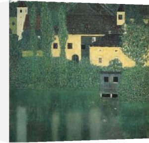 Schloss Unterrach on the Attersee by Gustav Klimt
