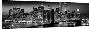 New York - Manhattan Black (Berenholtz) by Anonymous
