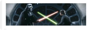 Star Wars - Vader vs Luke by Celebrity Image