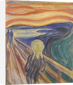 The Scream (small) by Edvard Munch