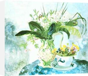 Wild Garlic and King Cups by Nicholson