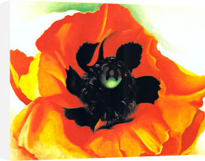 Poppy, 1927 by Georgia O'Keeffe
