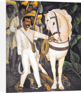Agrarian Leader Zapata by Diego Rivera