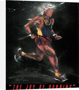 Joy Of Running by Terry Rose