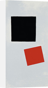 Painting Suprematism, 1915-16 by Kazimir Malevich