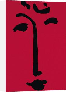 Facial-Maschera (red), 1951 (Silkscreen print) by Henri Matisse