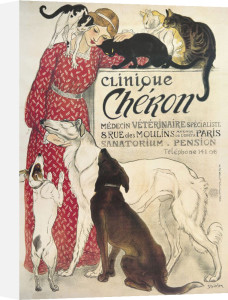 Clinique Cheron by Theophile-Alexandre Steinlen