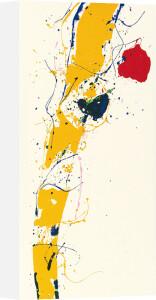 Untitled 1985 (Silkscreen print) by Sam Francis