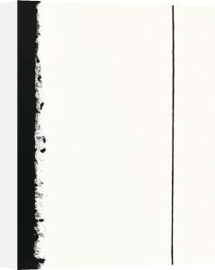 Fifth station, 1960 (Silkscreen print) by Barnett Newman