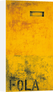 Fola, 1990 (Silkscreen print) by Jurgen Wegner