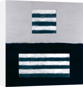 Landeline blue, 1999 by Sean Scully
