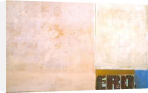 Eros, 1989 by Jurgen Wegner