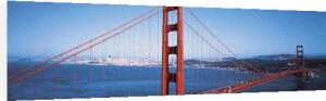 Golden Gate Bridge, San Francisco by David Lawrence