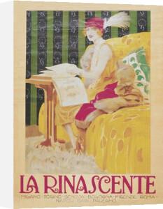 La Rinascente, 1913 by Leopoldo Metlicovitz