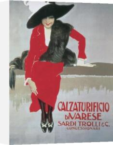 Calzaturificio di Varese, 1913 by Leopoldo Metlicovitz
