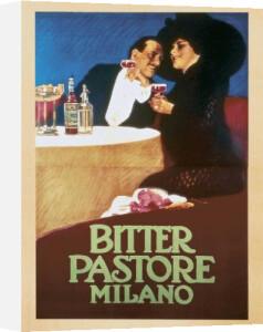 Bitter Pastore Milano, 1913 by Leopoldo Metlicovitz