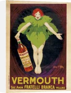 Vermouth Fratelli Branca 1922 by Jean d'Ylen