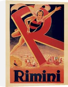 Rimini, 1929 by Adolfo Busi