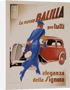Balilla, 1934 by Marcello Dudovich