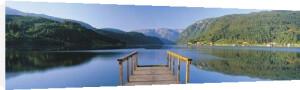 Hardangerfjord by John Lawrence