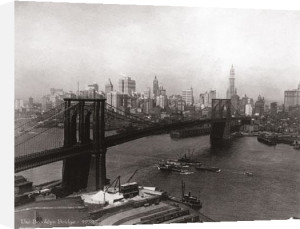 Brooklyn Bridge, 1932 by B & W Collection
