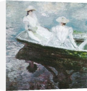 Girls on a Boat by Claude Monet