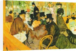 The Moulin Rouge by Henri de Toulouse-Lautrec
