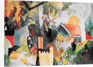 Landscape by August Macke
