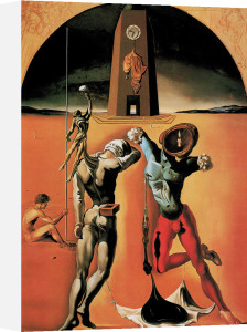 Poesie d'Amerique, 1943 by Salvador Dali