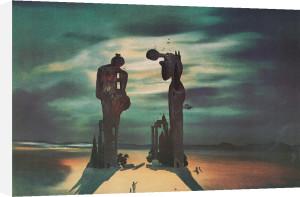 Réminescence Archéologique de l'Angélus de Millet, 1935 by Salvador Dali
