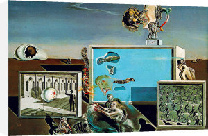 Piaceri Illuminati, 1929 by Salvador Dali