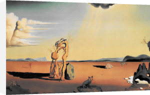 Naked Woman in the Desert, 1948 by Salvador Dali