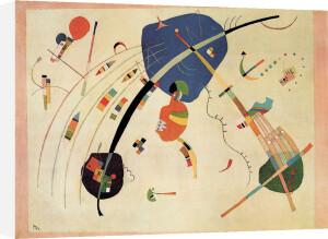 Towards the Blue, 1939 by Wassily Kandinsky