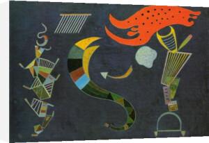Mit dem Pfeil, 1943 by Wassily Kandinsky