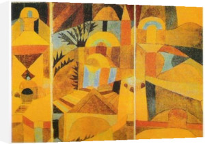 The Temple Garden by Paul Klee