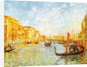 Grand Canal, Venice by Pierre Auguste Renoir