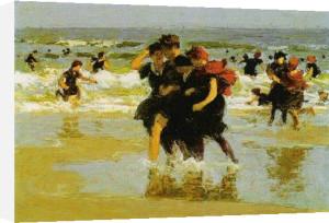 At the Seaside, 1905 by Edward Henry Potthast