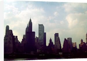 New York Skyline, 1960s by Mirrorpix